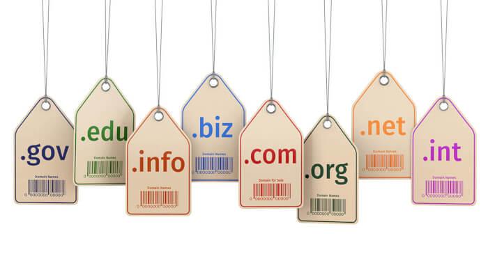 як обрати домен